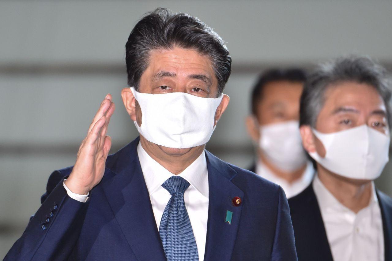 Japanese Prime Minister Shinzo Abeis (AFP-Yonhap)