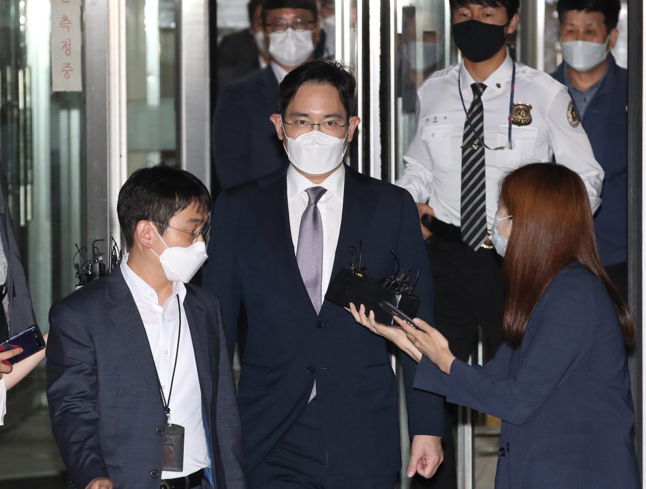 Samsung Electronics' Vice Chairman Lee Jae-yong. (Yonhap)