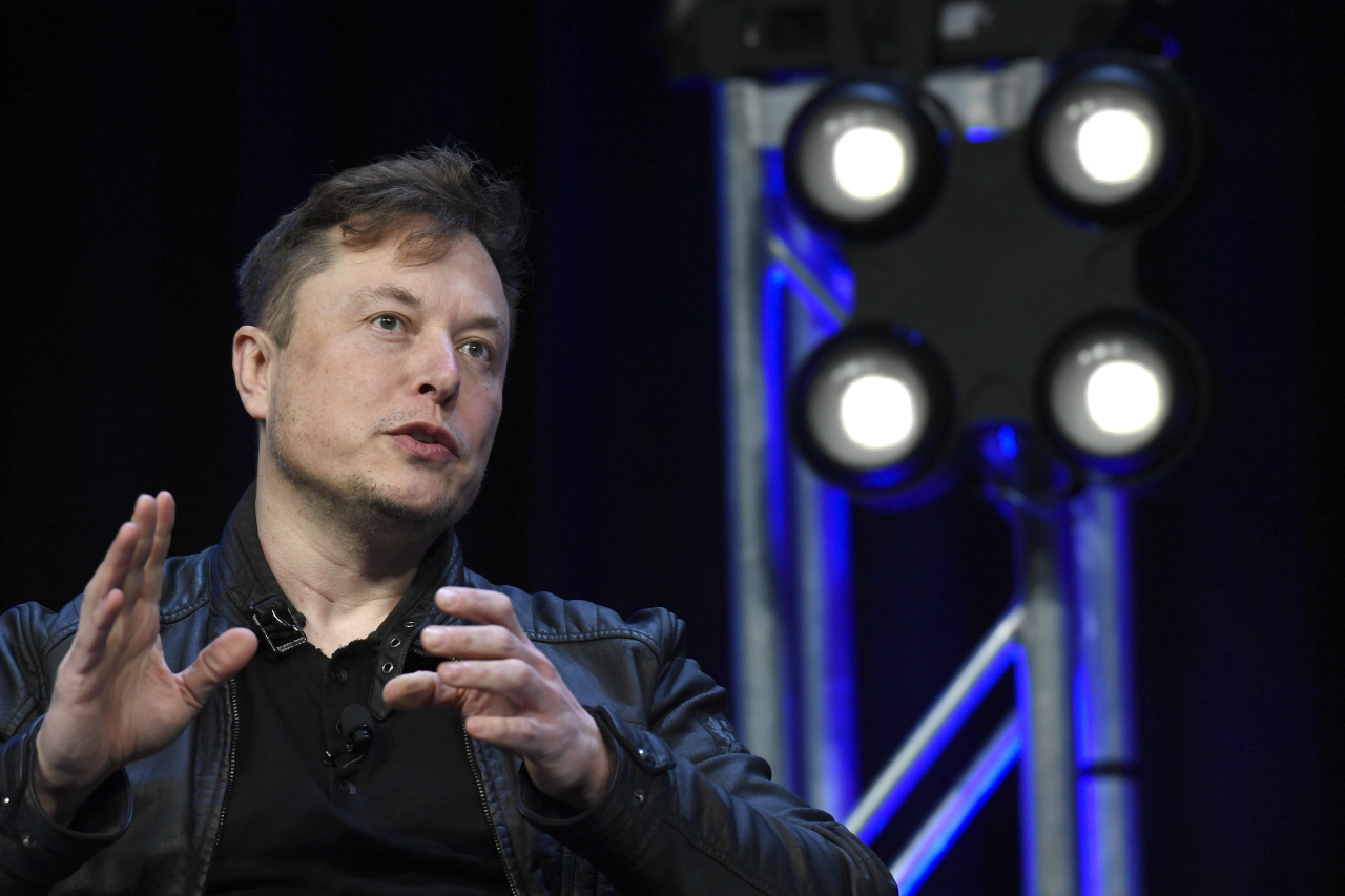 In this March 9, 2020, file photo, Tesla and SpaceX Chief Executive Officer Elon Musk speaks at the SATELLITE Conference and Exhibition in Washington. (AP-Yonhap)