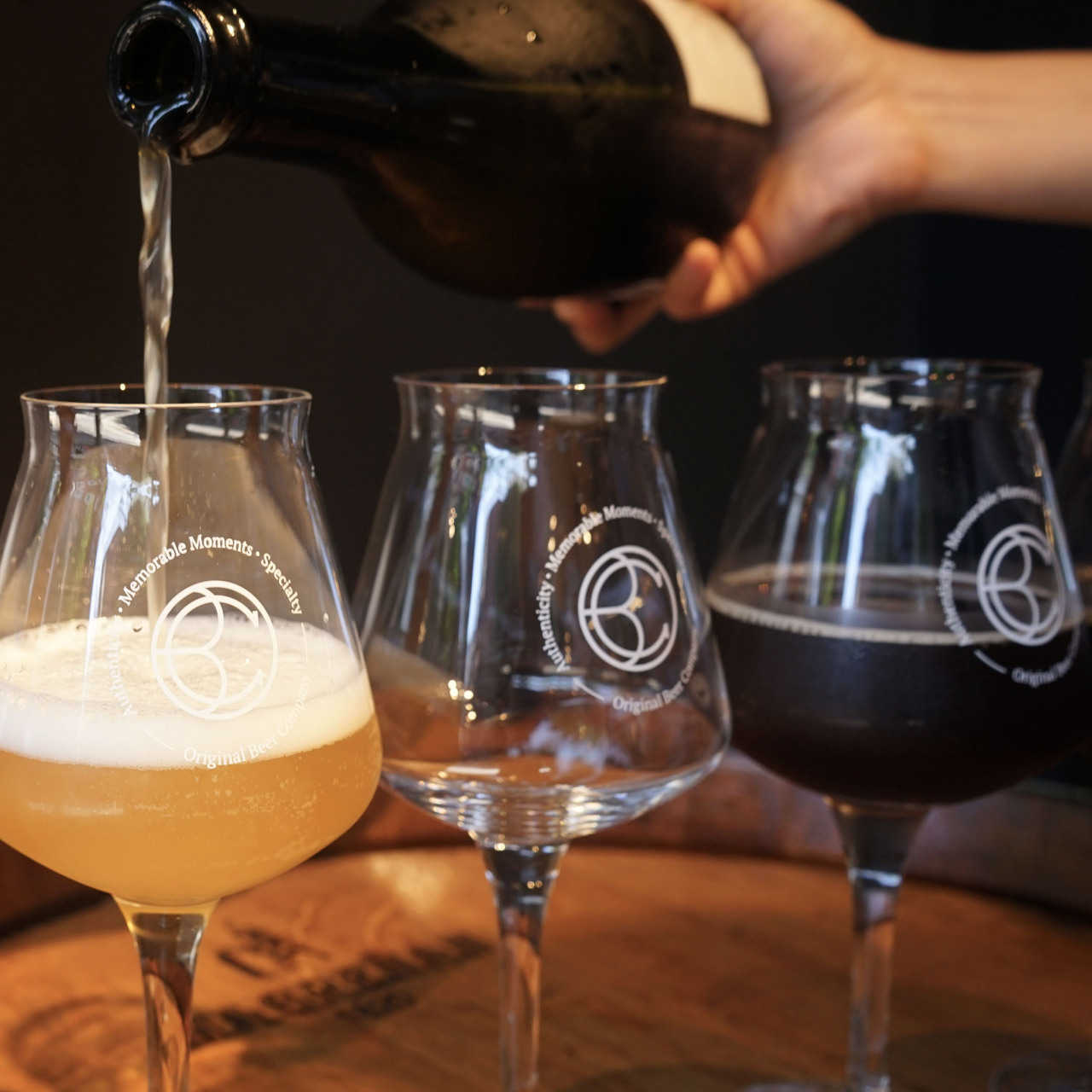 Original Beer Company's craft beer blurs the lines between beer, wine and spirits with barrel-aging and biere de Champagne. (OBC)
