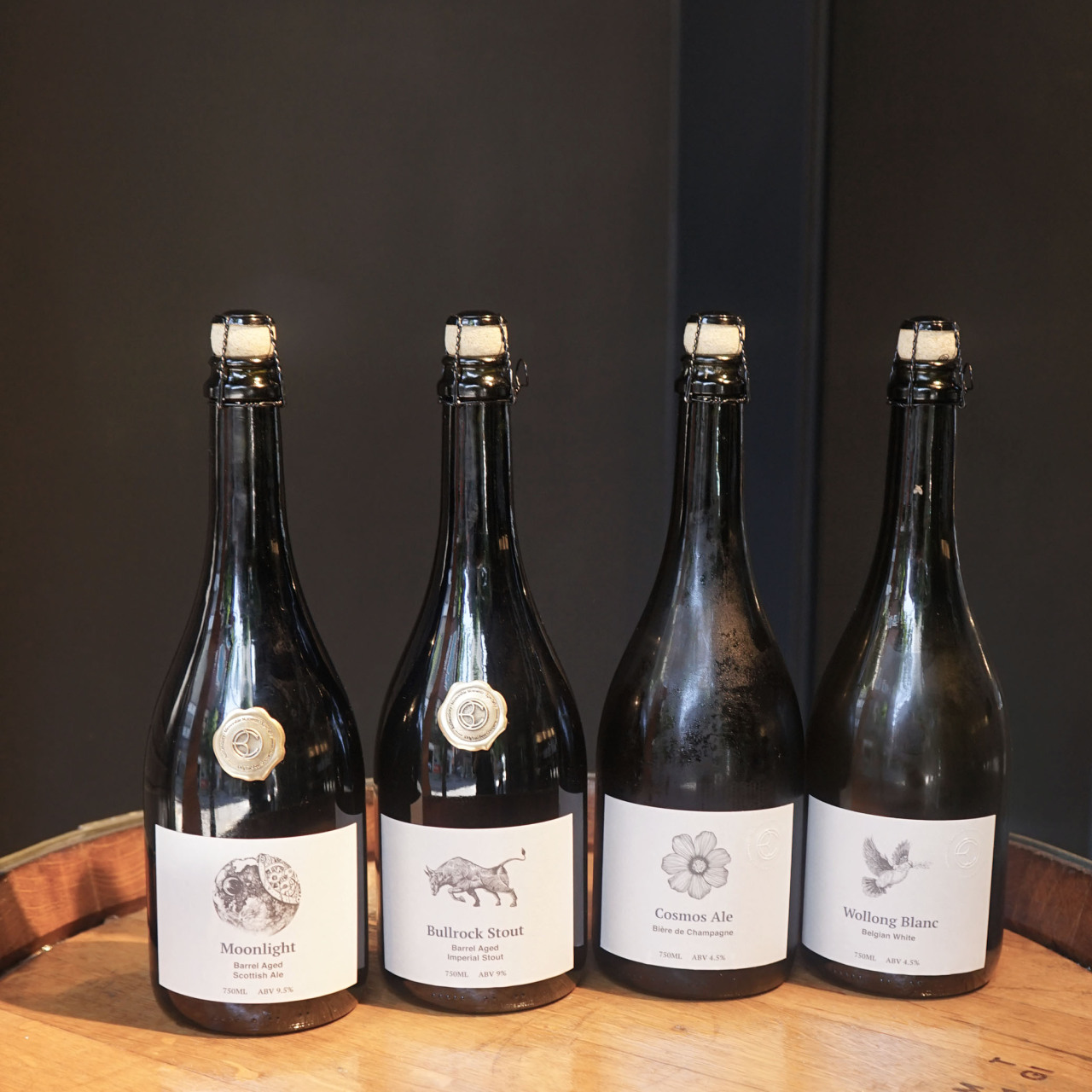 Original Beer Company has released four beers so far, including two barrel-aged brews and one biere de Champagne. (OBC)