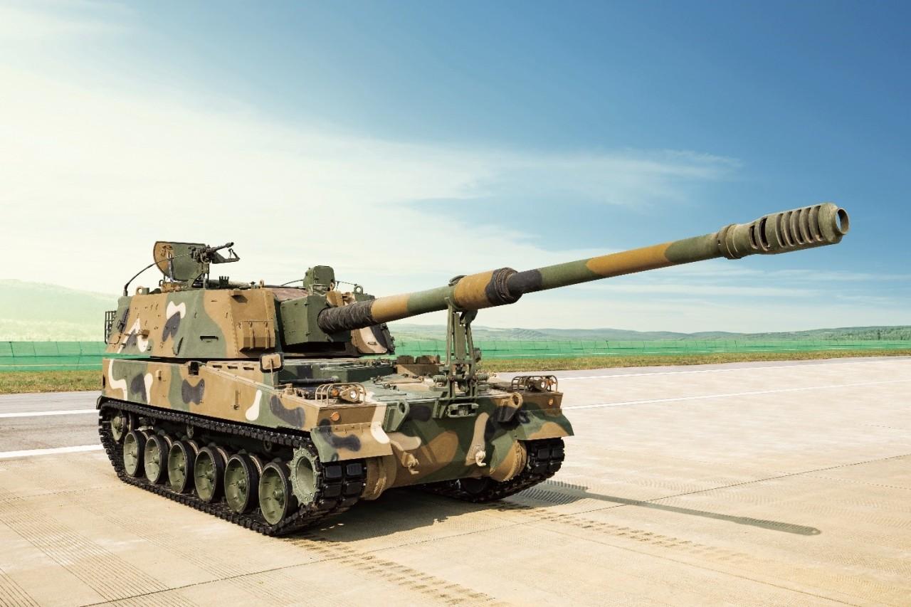 K9 howitzer (Hanwha Defense)