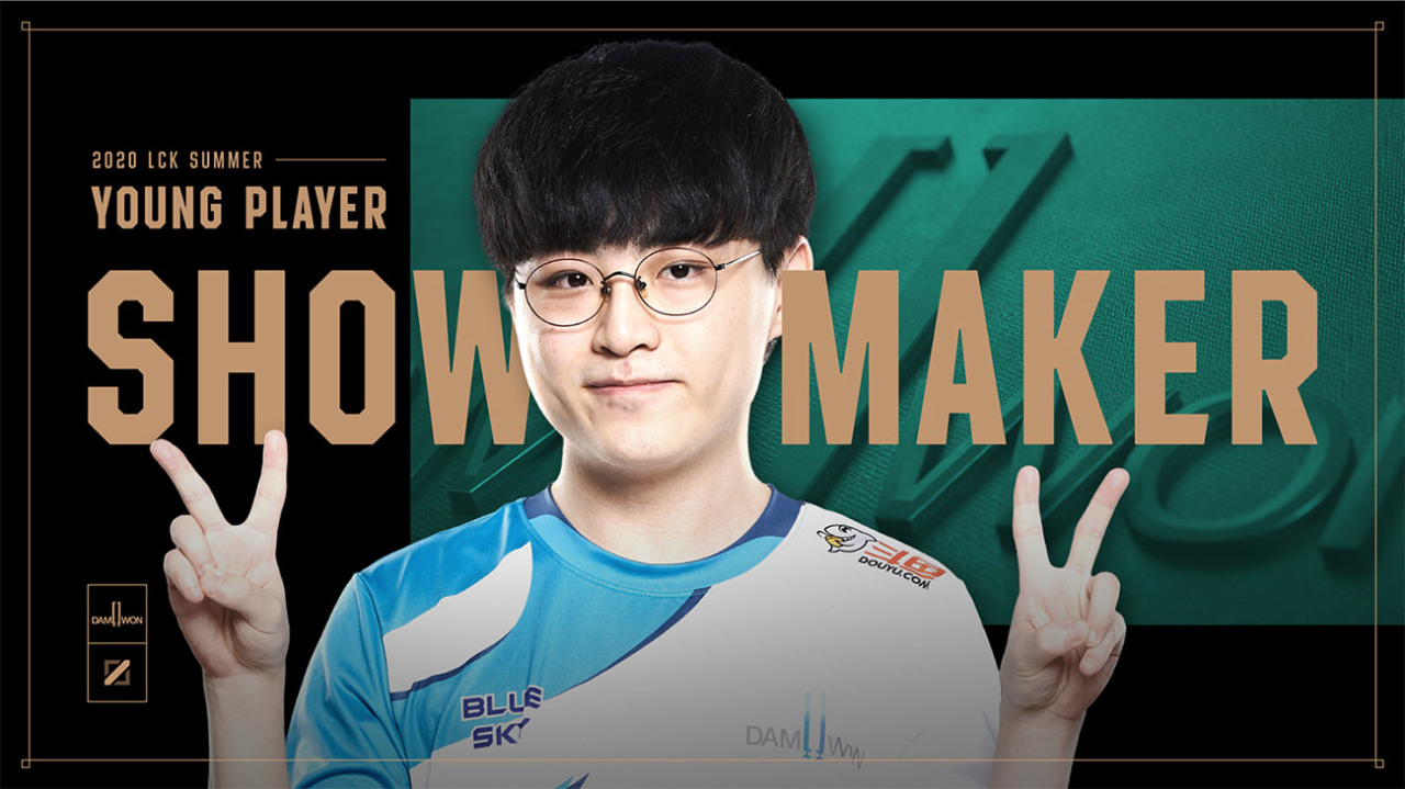 ShowMaker, Young Player Award. (Riot Games)