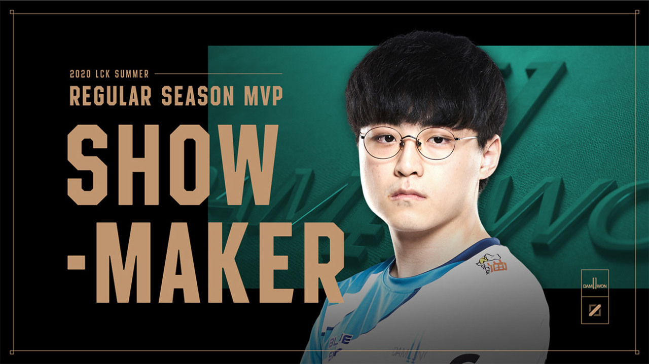 ShowMaker, Regular Season MVP. (Riot Games)