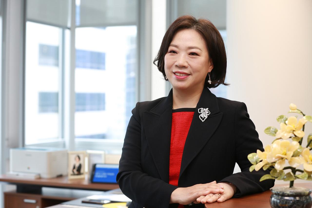 Park Kyung-hee, executive vice president of Samsung Securities' SNI strategic unit (Samsung Securities)