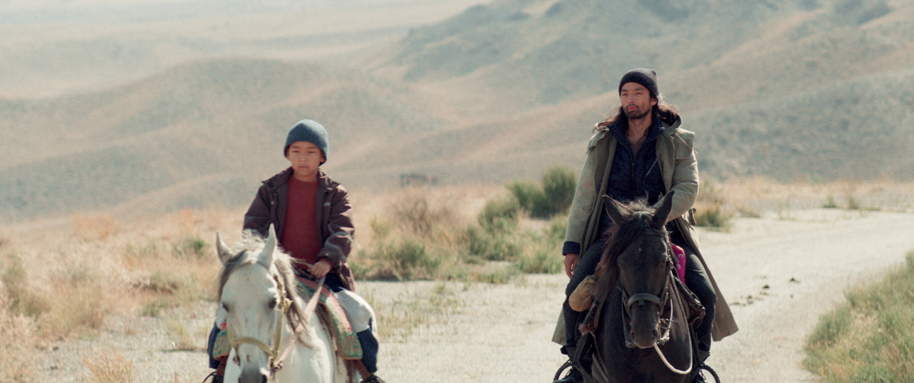 "Screenshot of Kazakhstan film ""The Horse Thieves. Roads of Time"" (KF)"
