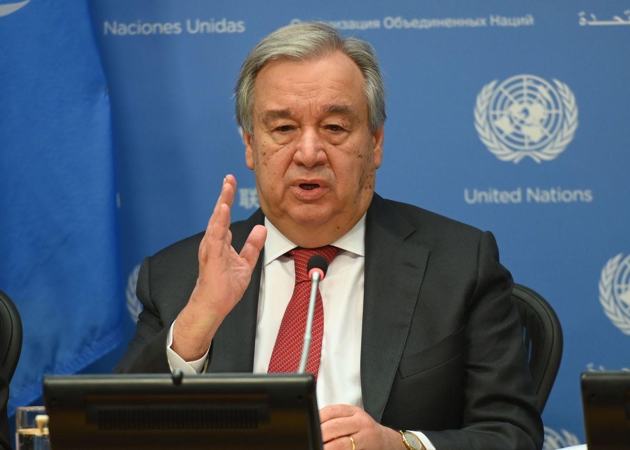 United Nations Secretary General Antonio Guterres (AFP-Yonhap)