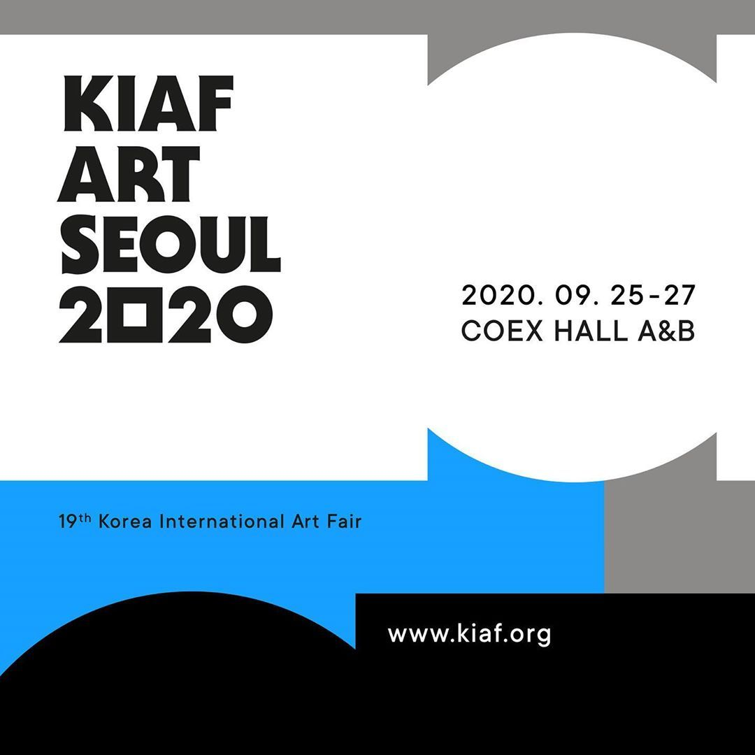 The official poster of the KIAF Art Show 2020 (KIAF Art Seoul Committee)