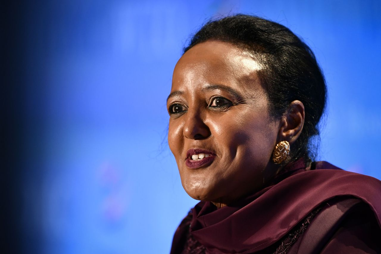 Kenya's former WTO General Council chair Amina Mohamed (AFP-Yonhap)