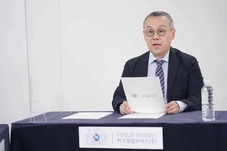 Managing Director at Philip Morris Korea Paik Young-jay (Philip Morris Korea)