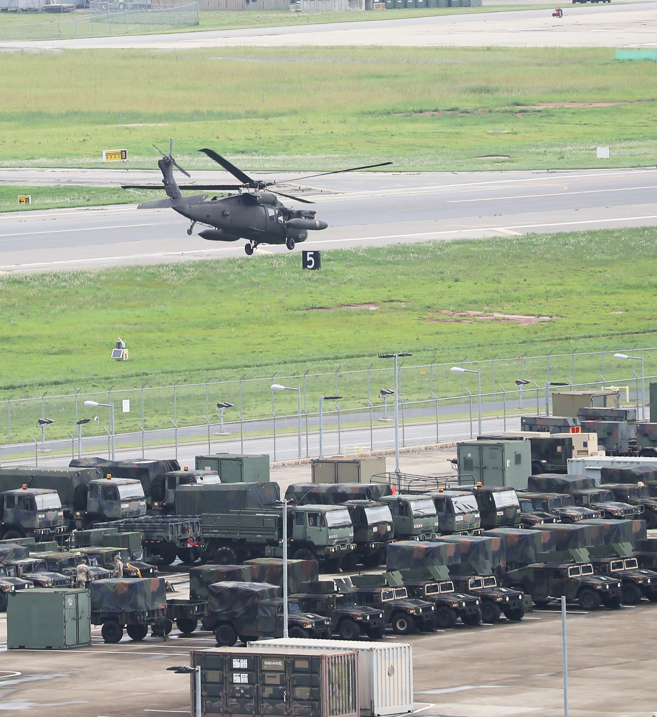 US Camp Humphreys in Pyeongtaek (Yonhap)