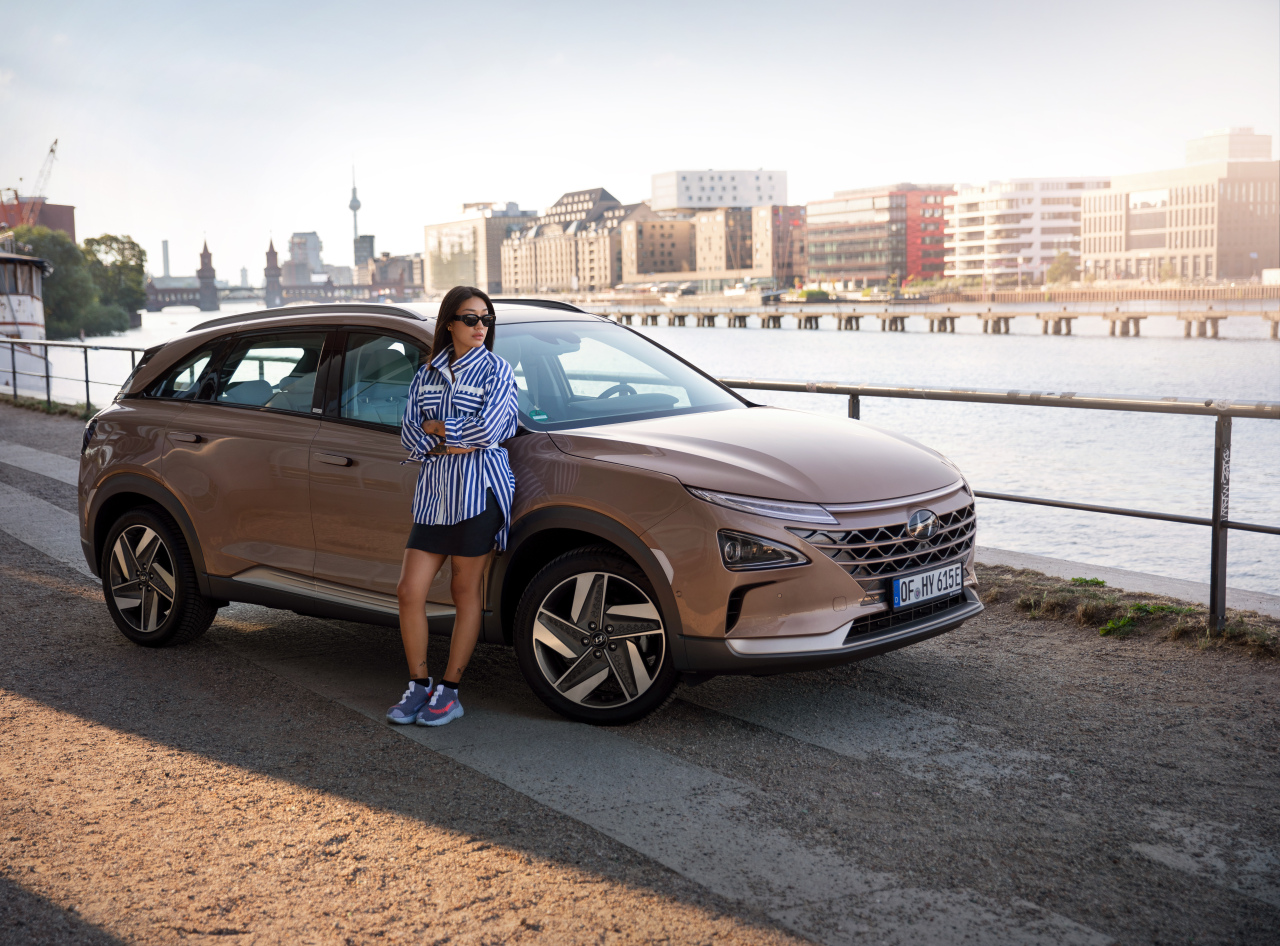 "Hyundai Motor's ""Hydrogen to you"" campaign promotes hydrogen energy to Europe. (Hyundai Motor)"