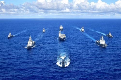 (The United States Seventh Fleet-Yonhap)