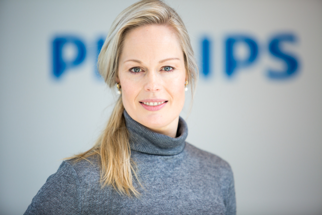 Rianne Meijerman, head of consumer marketing at Royal Philips (Philips Korea)