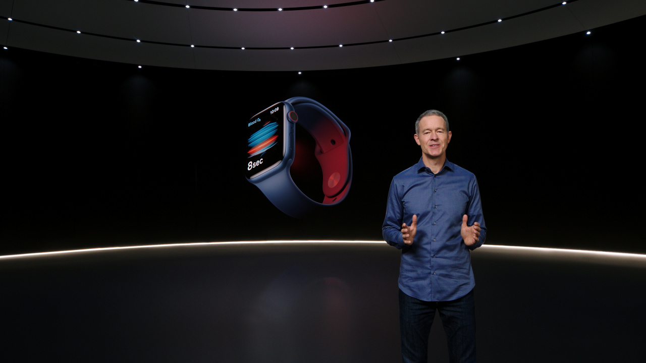 Apple COO Jeff Williams introduces the Apple Watch 6(Reuters-Yonhap)