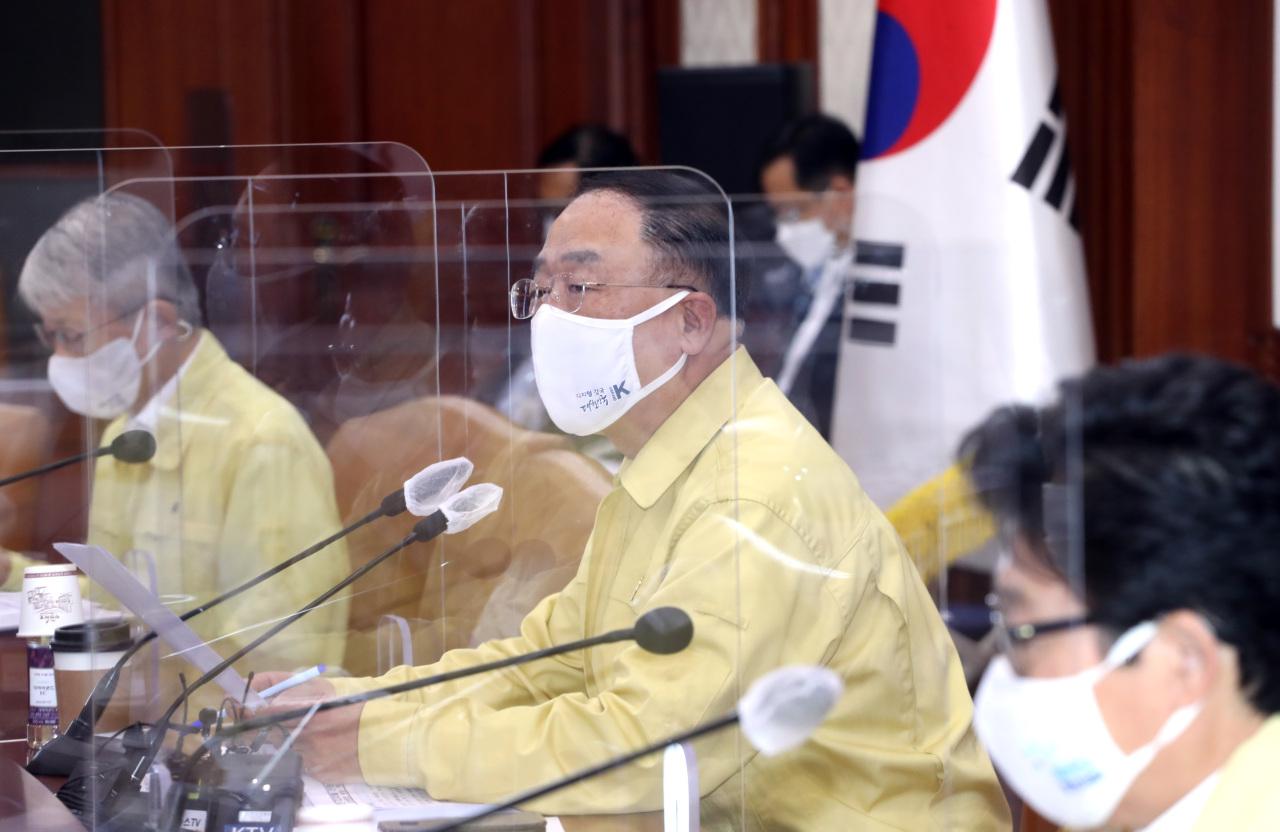Deputy Prime Minister and Finance Minister Hong Nam-ki. (Yonhap)