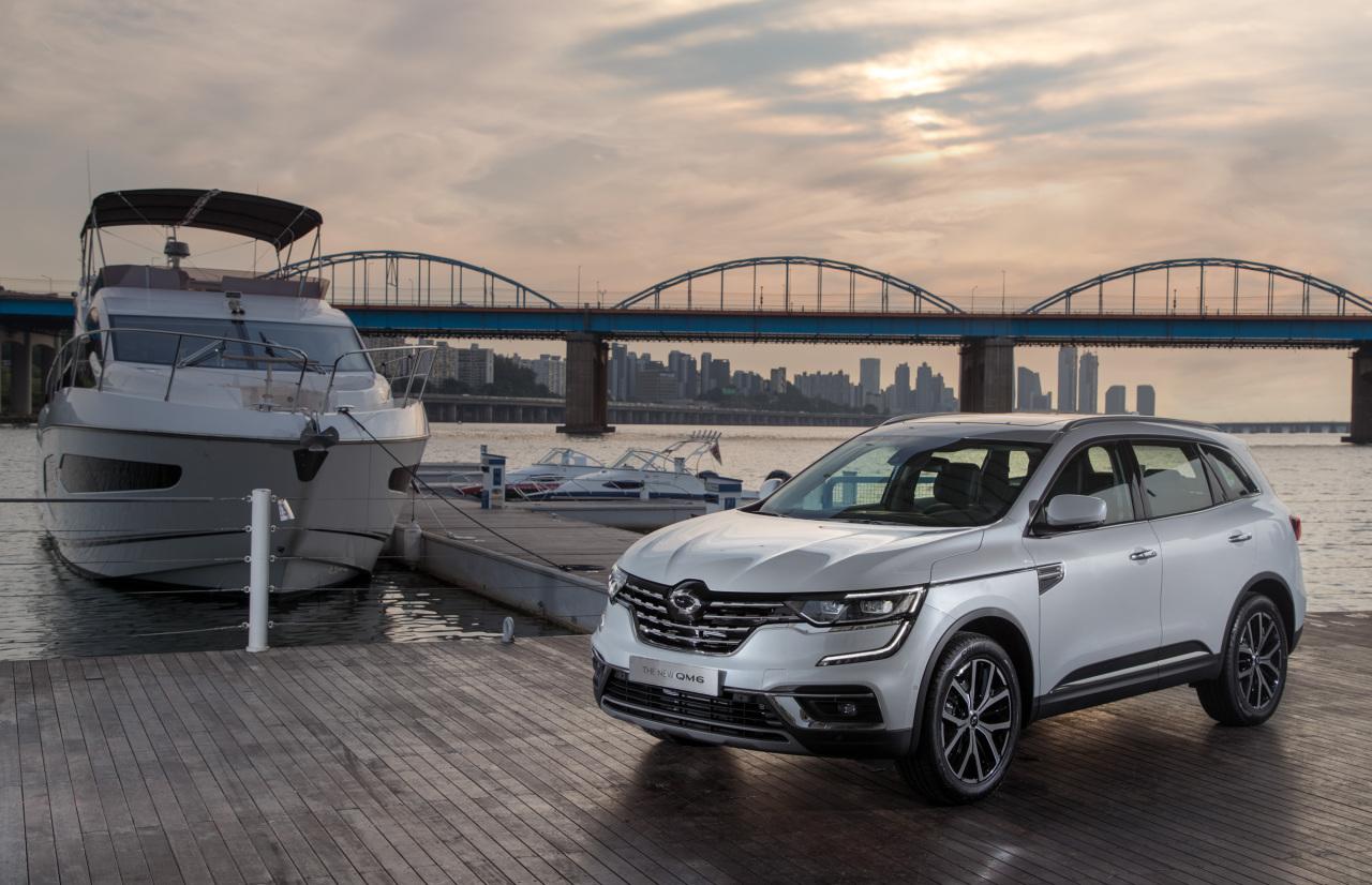 Renault Samsung Motors' the new QM6 LPe (Renault Samsung Motor)