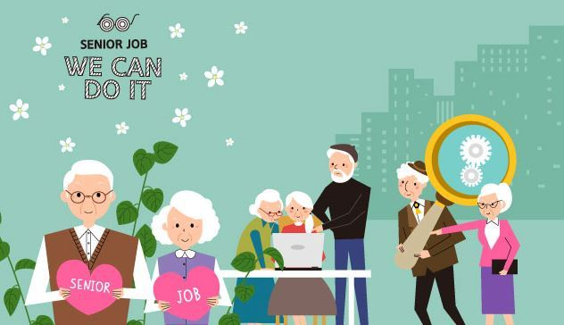 An online banner for recruitment from Busan City Hall to promote seniors' participation in social and economic activities in 2019 (Busan City)