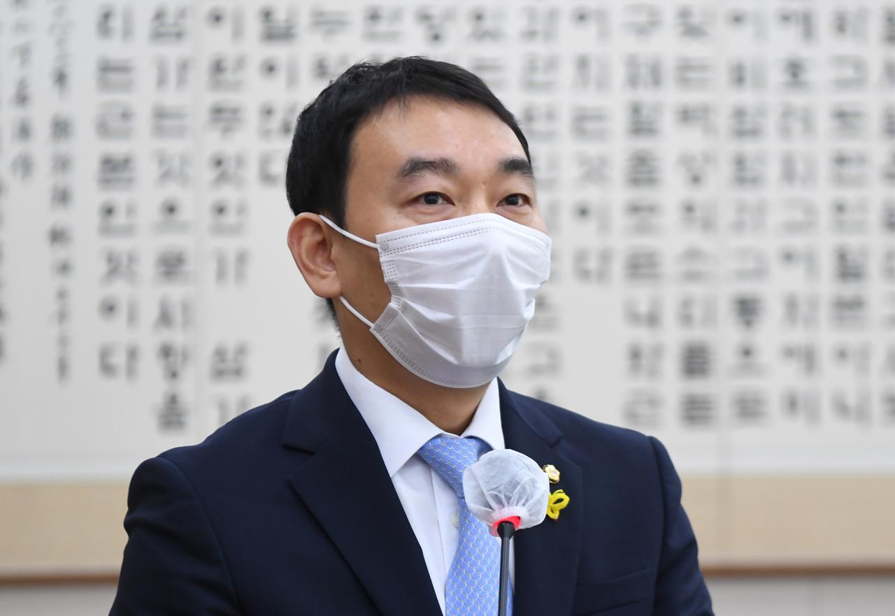 Democratic Party of Korea Rep. Kim Yong-min (Yonhap)