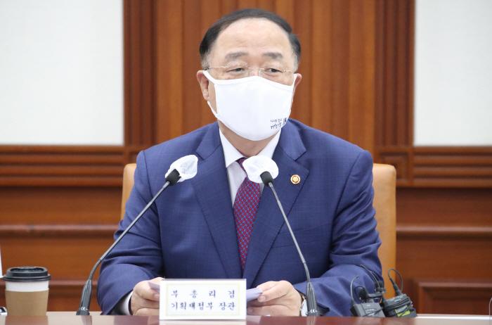 South Korean Finance Minister Hong Nam-ki (Yonhap)