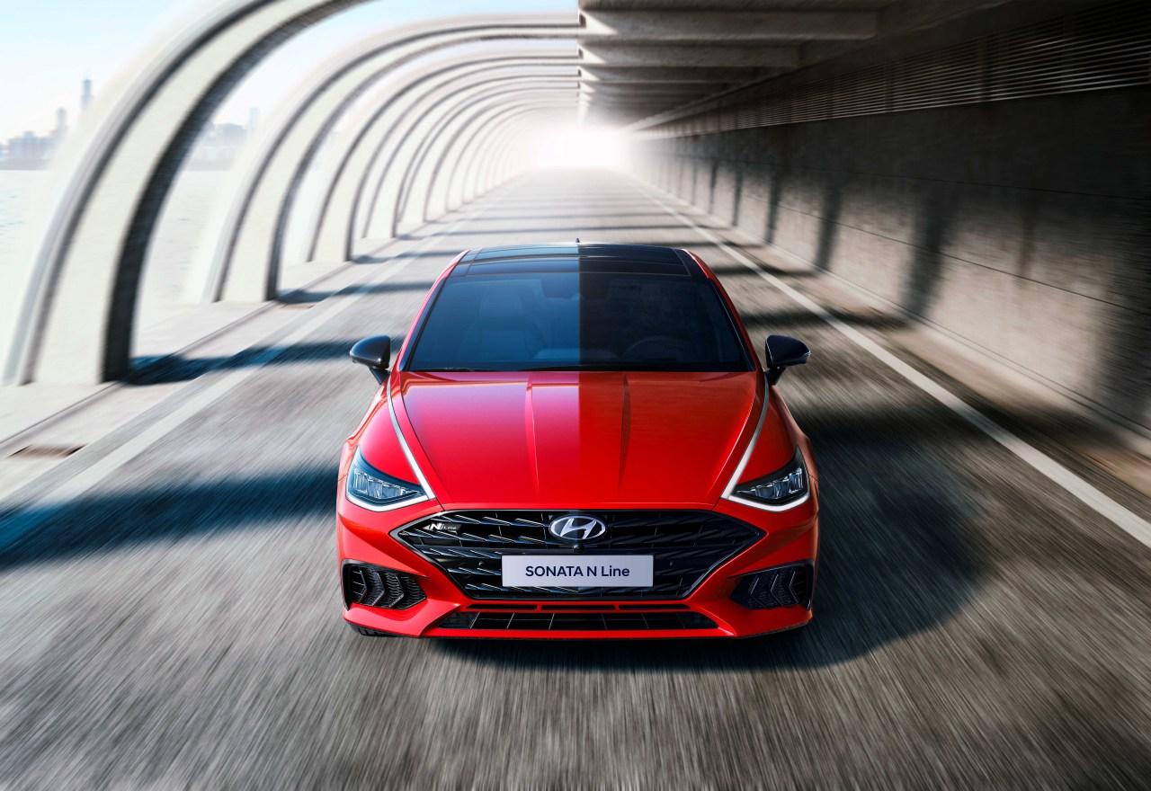 Exterior design of Hyundai Motor's 2021 Sonata N Line (Hyundai Motor)