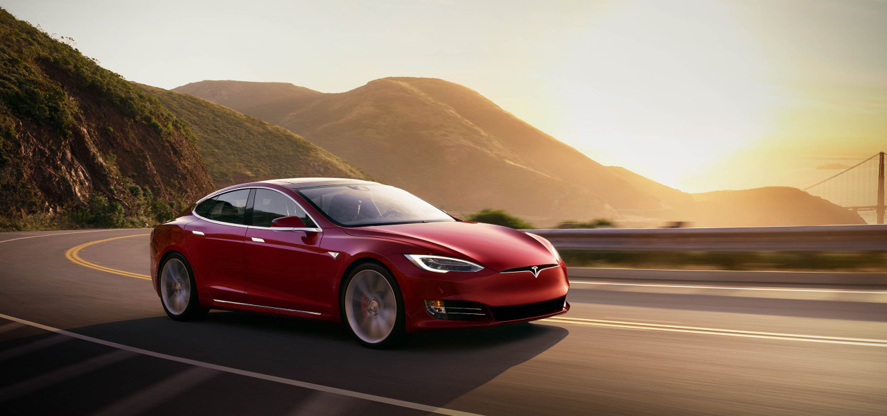 Electric car maker Tesla's first fully electric sedan Model S. (Tesla)