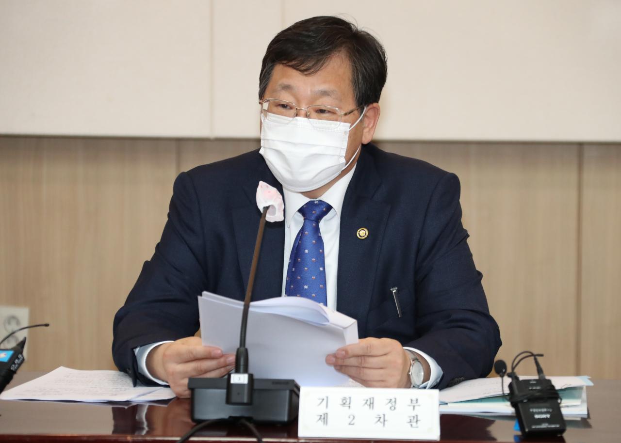 Vice Finance Minister Ahn Il-hwan. (Yonhap)