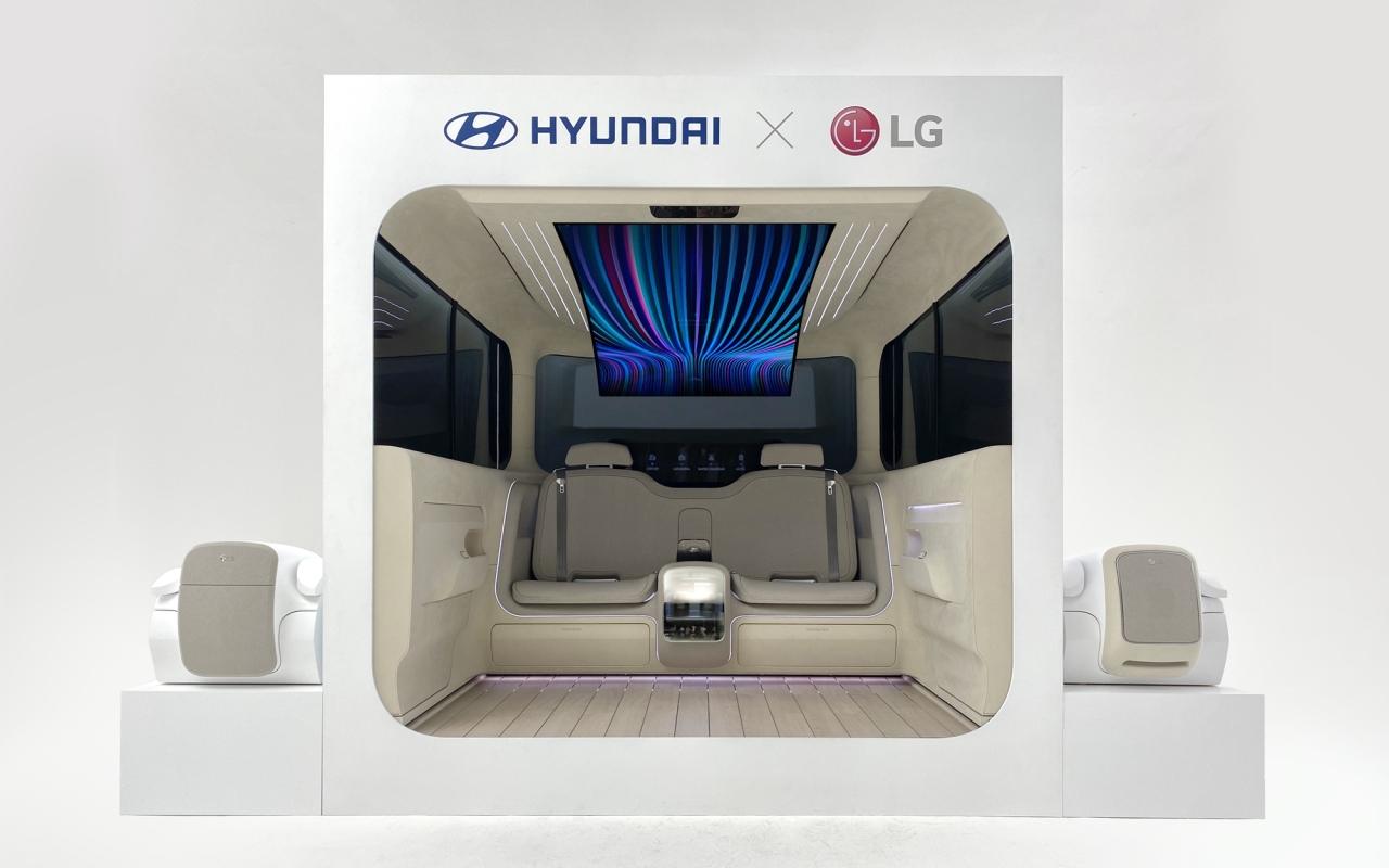 Ioniq Concept Cabin (LG Electronics)