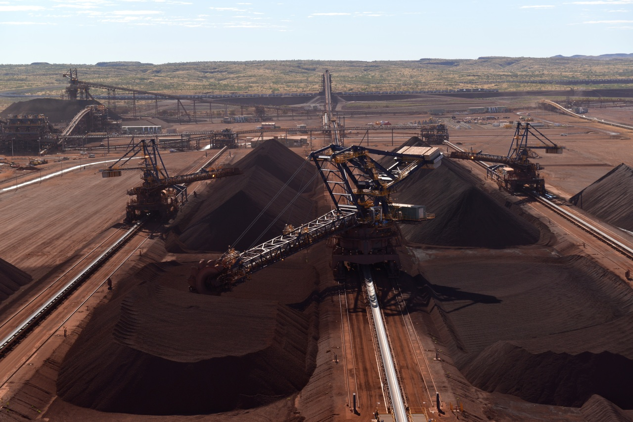 Roy Hill iron ore mine in Pilbara, Australia (Posco)