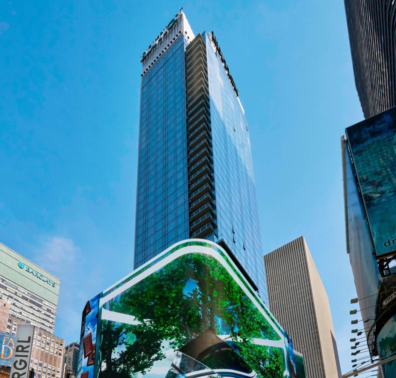 Exterior of the Times Square Edition hotel in New York City. (Marriott)