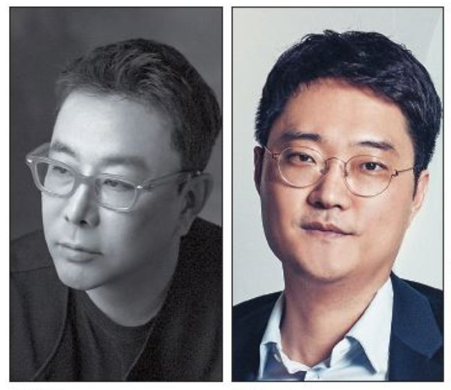 From left: Jung Kuho, Lee Sung-ho (The Korea Herald)