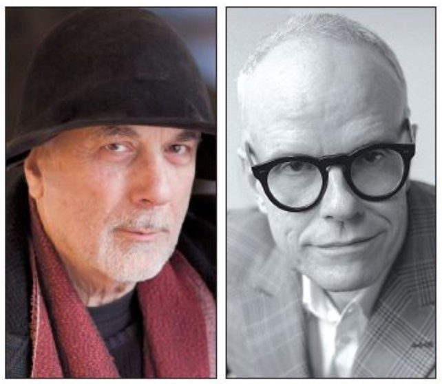 From left: Ron Arad, Hans Ulrich Obrist (The Korea Herald)