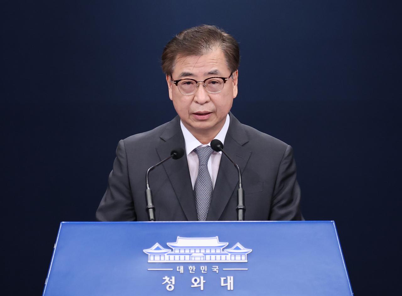 South Korea National Security Director, Suh Hoon (Yonhap)