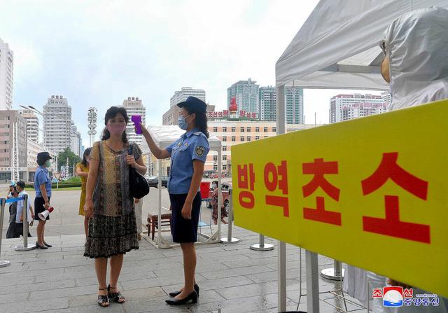 (North's Korean Central News Agency)