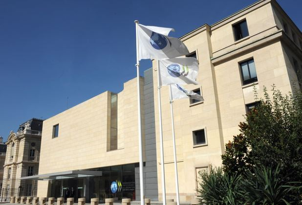 Headquarters of the Organization for Economic Cooperation and Development in Paris (OECD)