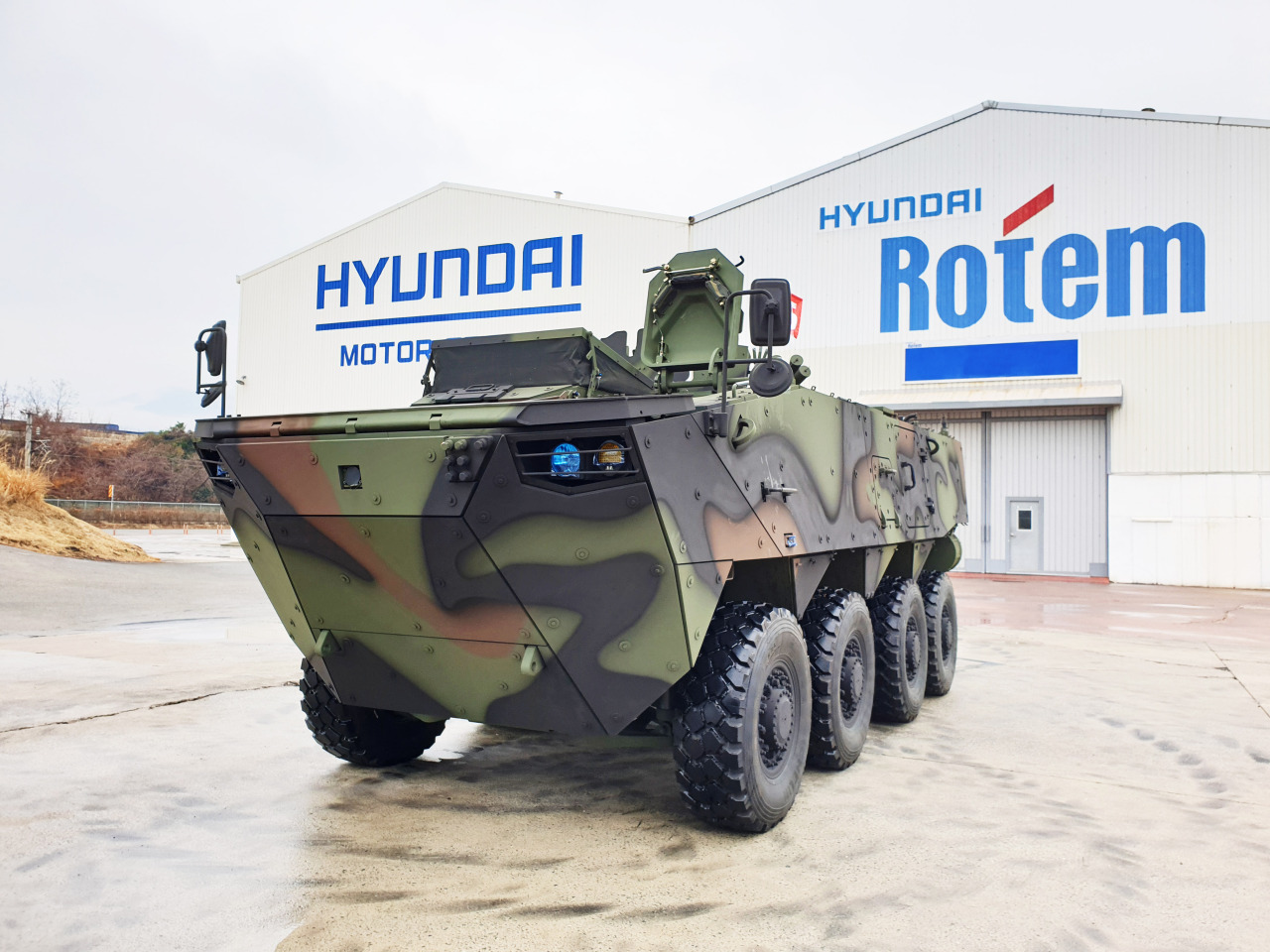 Hyundai Rotems's K808 armored personnel carrier (Hyundai Rotem)