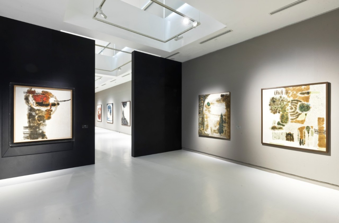 "An exhibition view of ""Park Rehyun Retrospective: Triple Interpreter"" at MMCA Deoksugung in central Seoul (MMCA)"