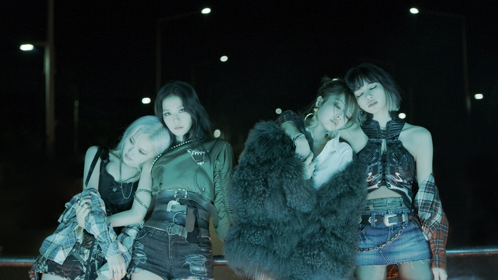 K-pop group BLACKPINK released its first full-length album on Friday. (YG Entertainment)