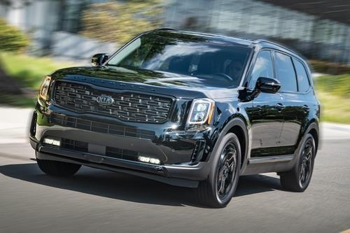 This promotional image provided by Kia Motors America shows the Telluride. (Yonhap)