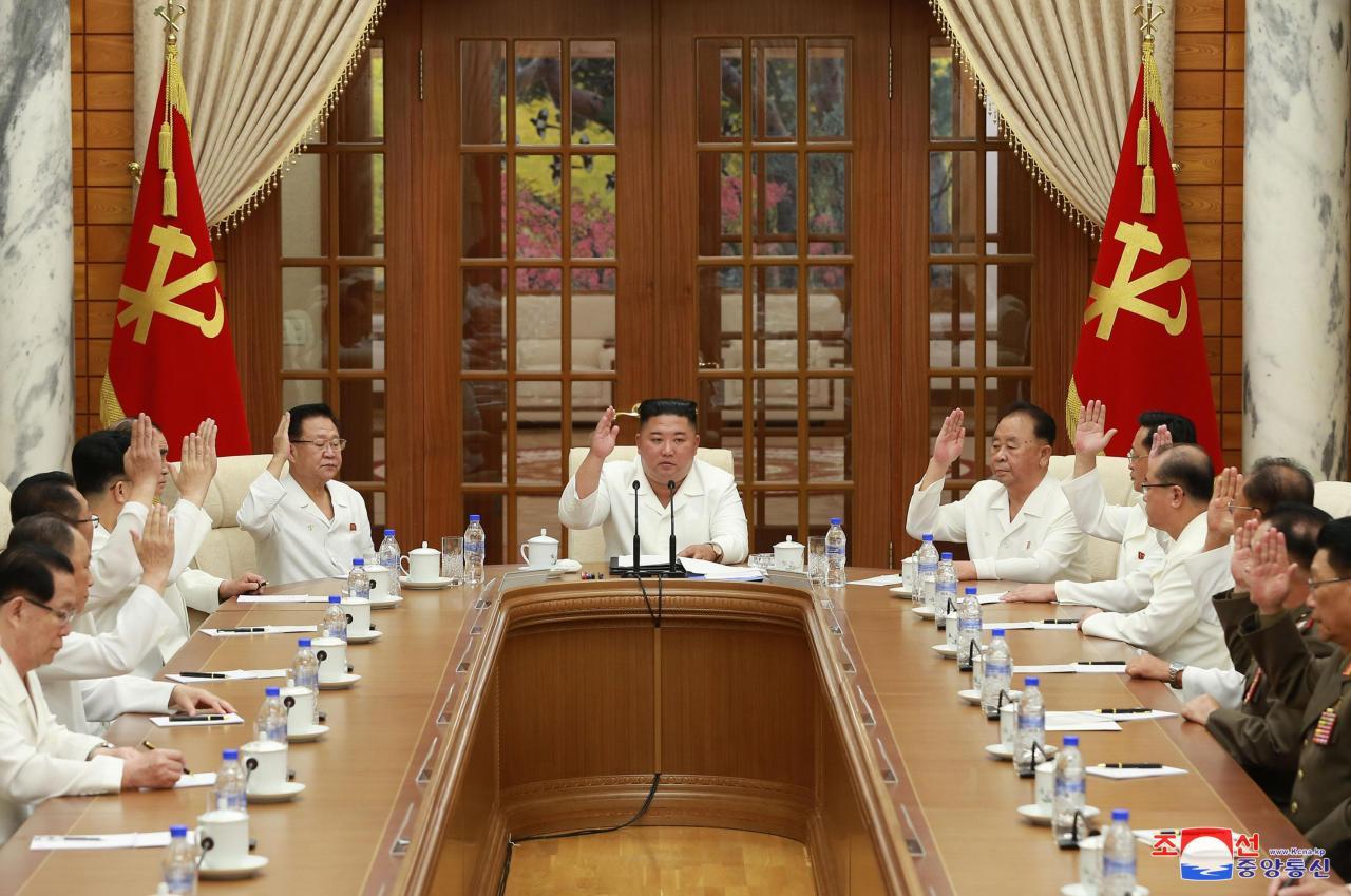 (Korean Central News Agency)