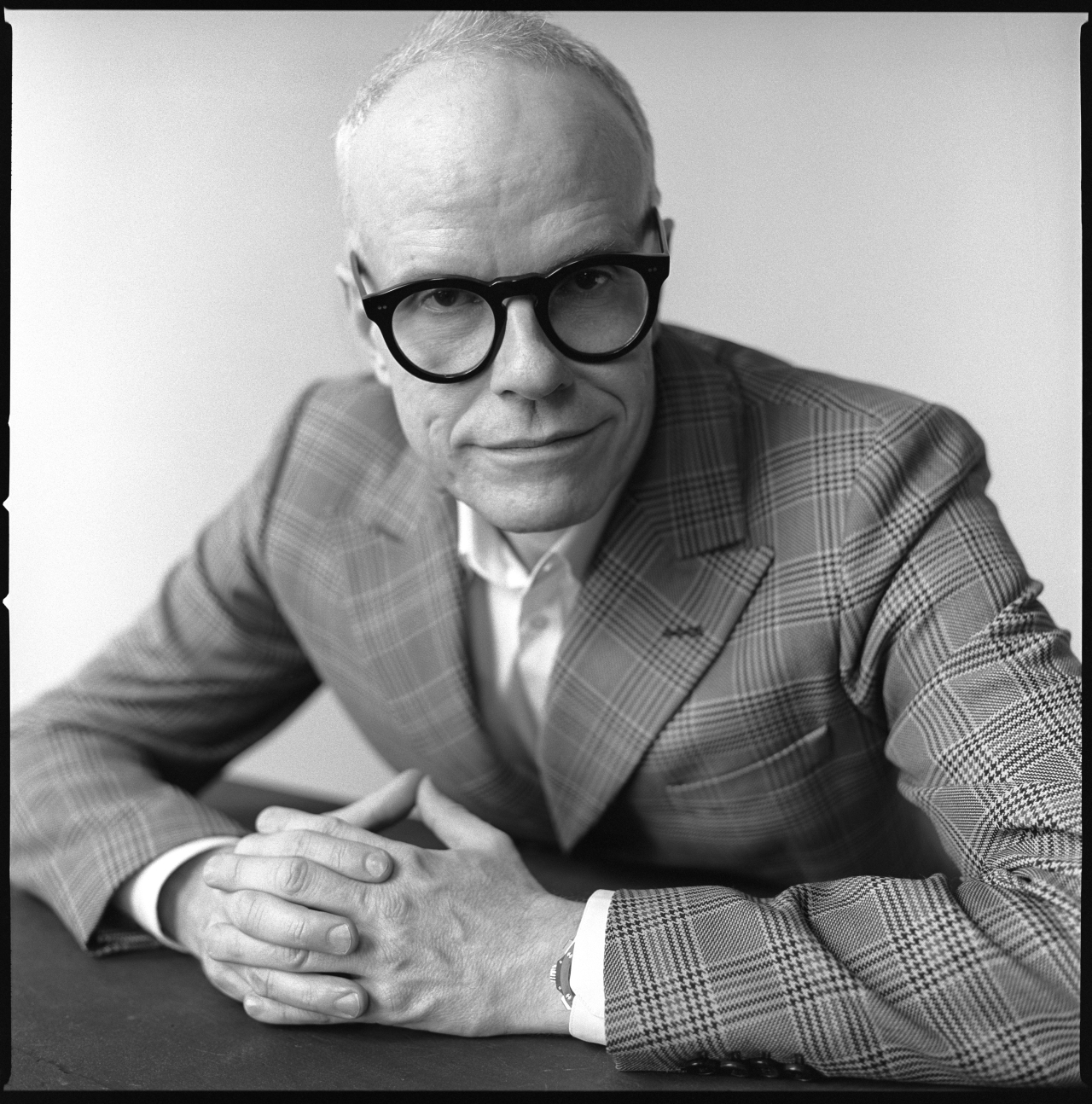 Hans Ulrich Obrist, the artistic director of the Serpentine Gallery