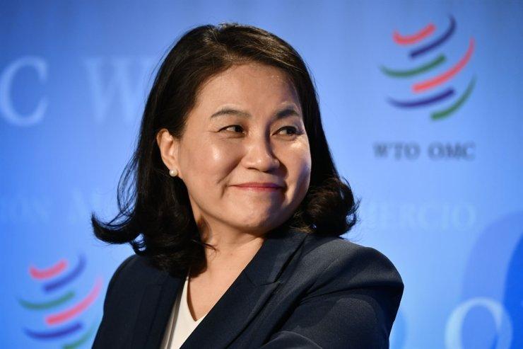South Korean Trade Minister Yoo Myung-hee (AFP-Yonhap)