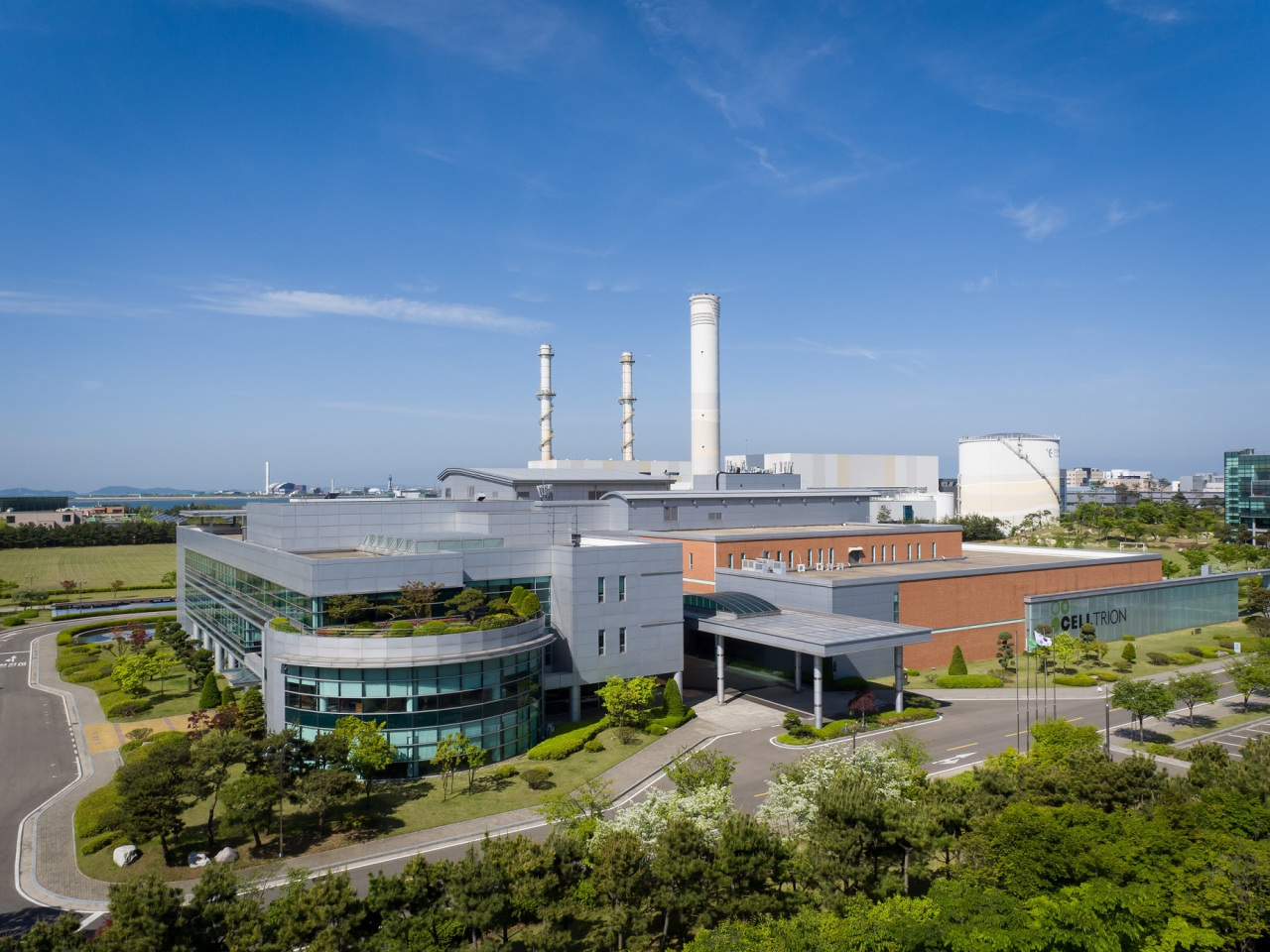 Celltrion's plant No. 1 in Songdo, Incheon (Celltrion)