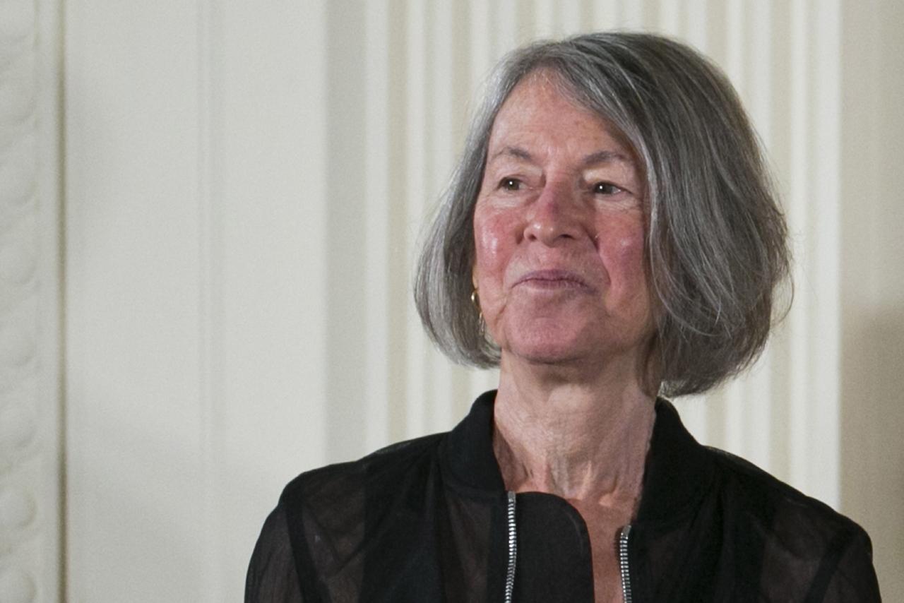 Winner of 2020 Nobel Literature Prize Louise Gluck (EPA-Yonhap)