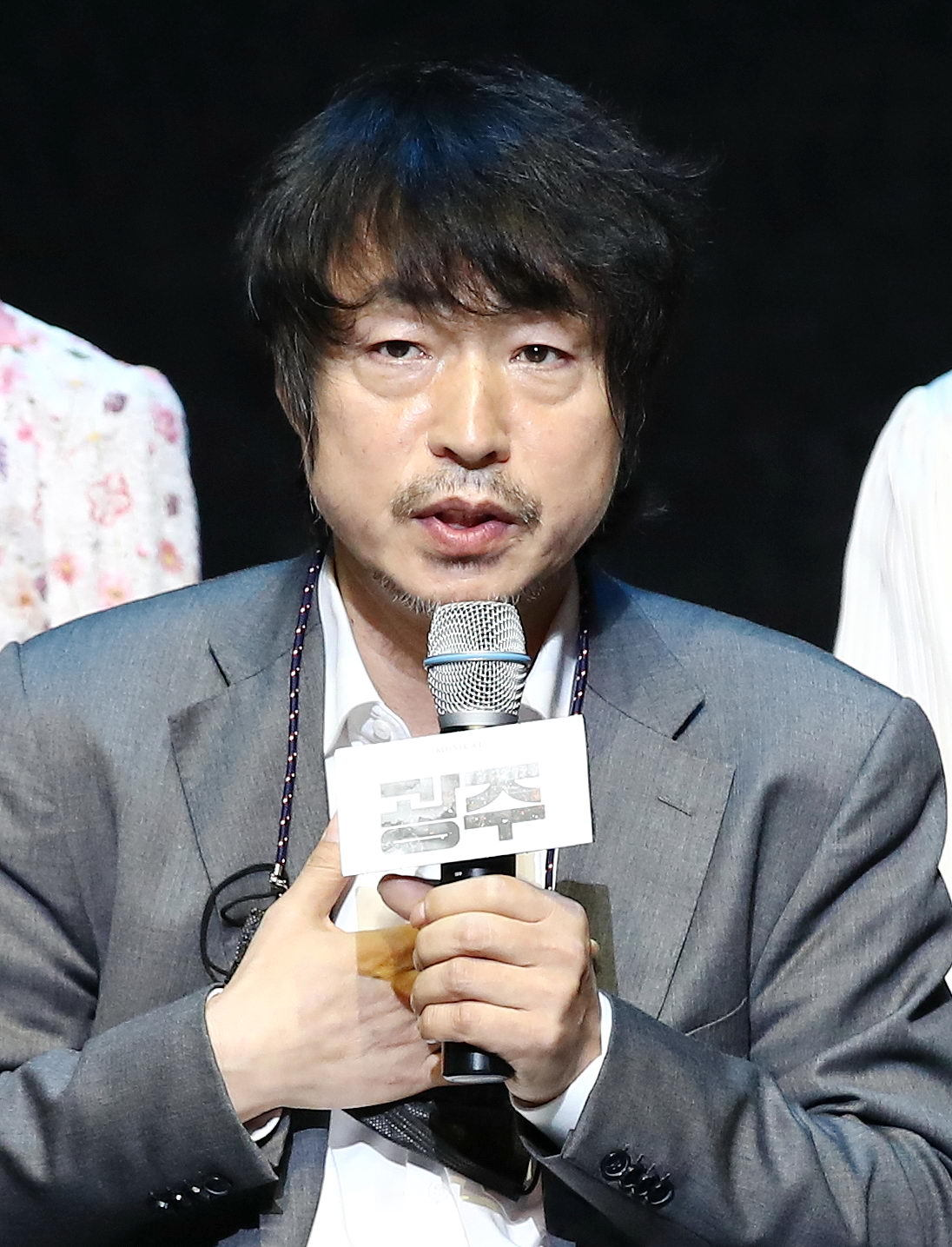 Director Koh Sun-woong speaks Tuesday at a press event at the Hongik Daehangno Art Center in central Seoul. (Yonhap)