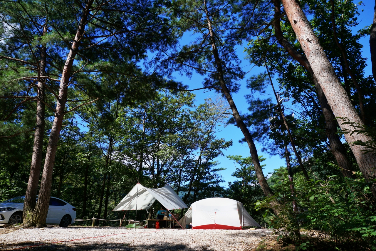 Meonguri Valley Camping Site in Pocheon, Gyeonggi Province (Korea Tourism Organization)