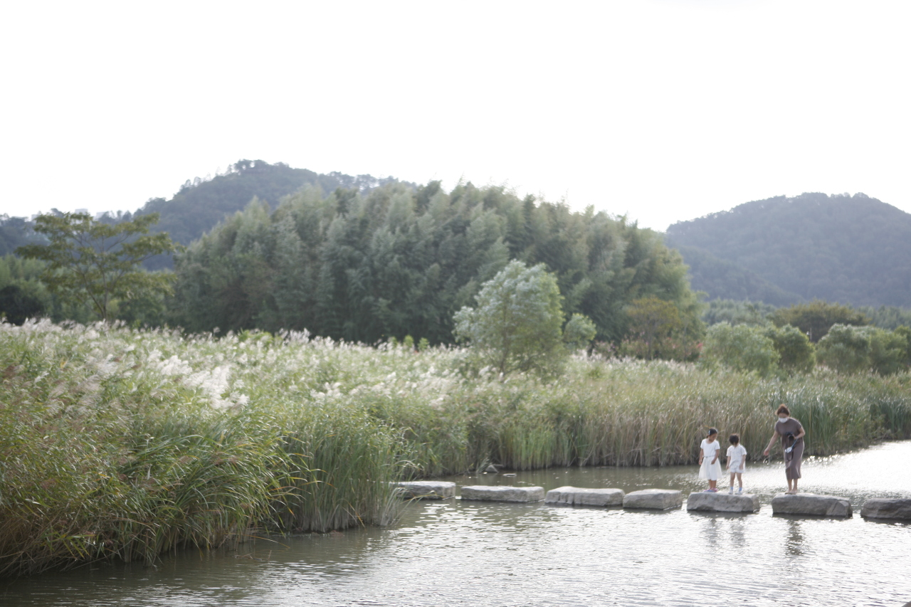 Taehwagang National Garden in Ulsan (Korea Tourism Organization)