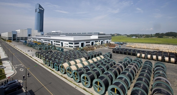 Taihan Electric Wire's production facility in Dangjin, South Chungcheong Province (Taihan Electric Wire)