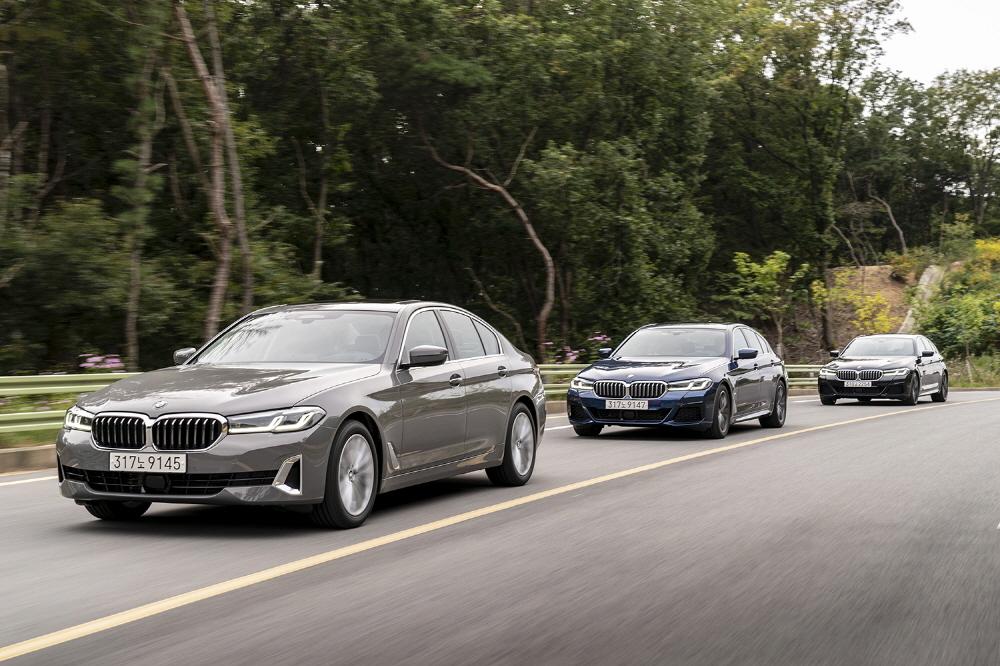 BMW 5 Series (BMW Korea)