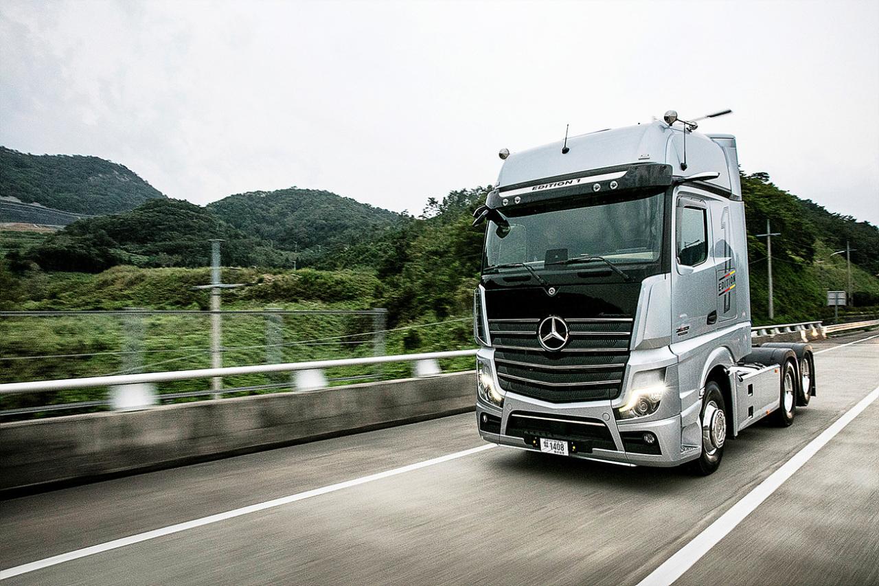 Mercedes-Benz Truck New Actros (Daimler Trucks Korea)